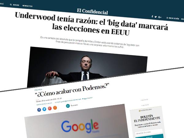 Artículos seopolitica big data