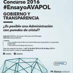 VII Concurso de #EnsayoAVAPOL