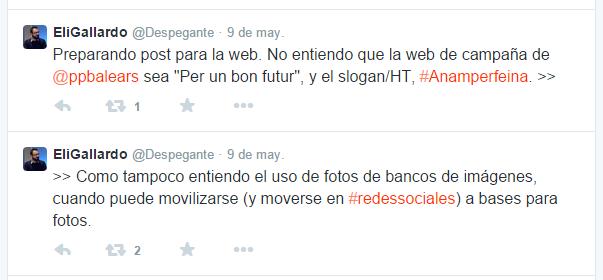Eli Gallardo Despegante Twitter