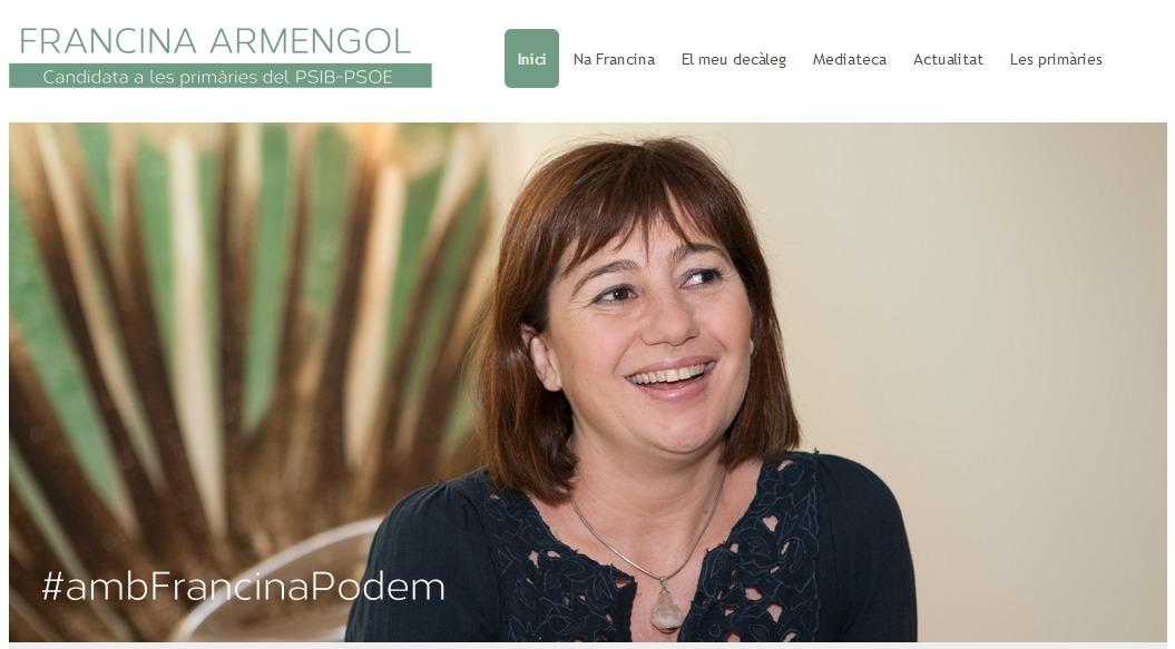 web francina armengol primarias psib psoe