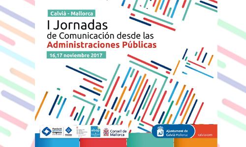 I Jornadas Comunicación Administraciones Públicas Calvià Eli Gallardo