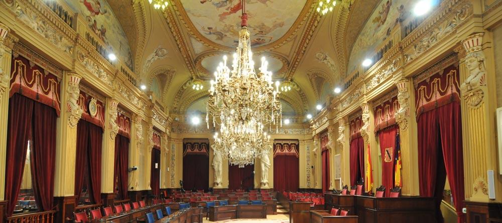 Parlament Balear Cariàtides