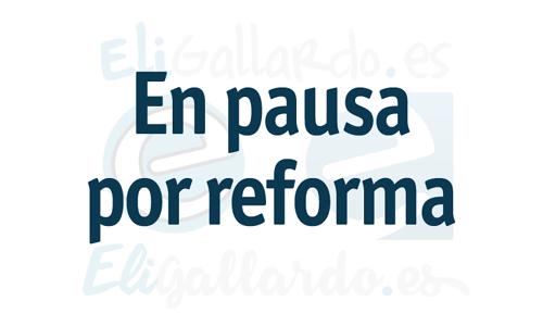 Pausa por reformas