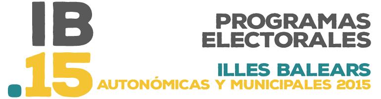 Programas electorales Balears