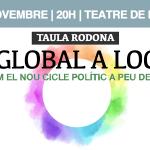 Mesa redonda en Lloseta: #DeGlobalALocal