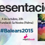 """Discurso de presentación de """"Balears, 2015: un nuevo ciclo político"""""""
